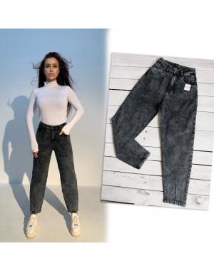 0601-7 Relucky джинсы-слоучи серые стрейчевые (6 ед. размеры: 25.26.27.28.29.30)