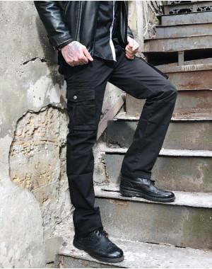 8813-1 черные ITENO брюки-карманы мужские демисезонные не тянутся (30-38, 6 ед.)