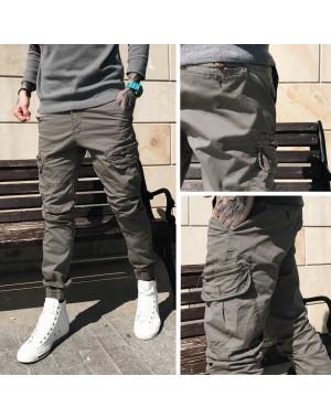 Джоггеры с боковыми карманами Iteno 8921-8