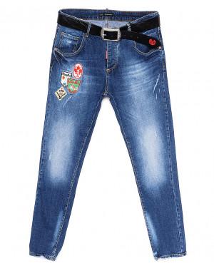 5861 Dsquared (30-36, батал 5 ед.) джинсы женские весенние стрейчевые