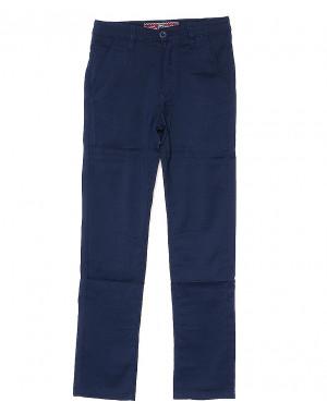 0002-2 синие Hill Climb (30-35, подросток, 6 ед.) брюки на мальчика осенние стрейчевые