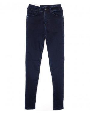 4380 (503) темно-синие Hepyek (26-31, 9 ед.) джинсы женские осенние стрейчевые