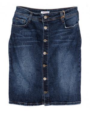 4207 Blue Woox юбка джинсовая синяя стрейчевая (25-30, 6 ед.)