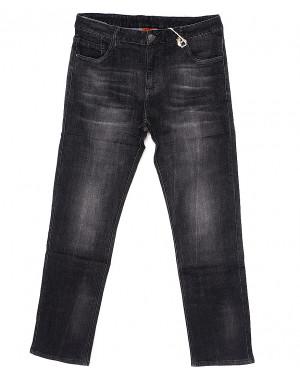 0127 Varxdar джинсы мужские батальные серые весенние стрейчевые (32-40, 8 ед.)