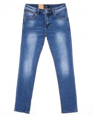 2069 Fang джинсы мужские зауженные с теркой весенние стрейчевые (30-38, 8 ед.)