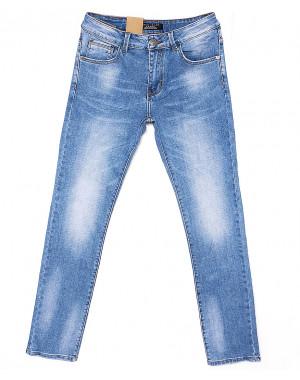2077 Fang джинсы мужские с теркой весенние стрейчевые (30-38, 8 ед.)