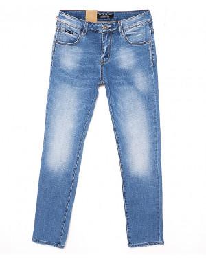 2040 Fang джинсы мужские с теркой весенние стрейчевые (29-36, 8 ед.)