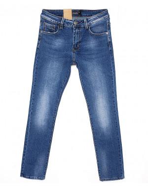 2036 Fang джинсы мужские с теркой весенние стрейчевые (30-38, 8 ед.)