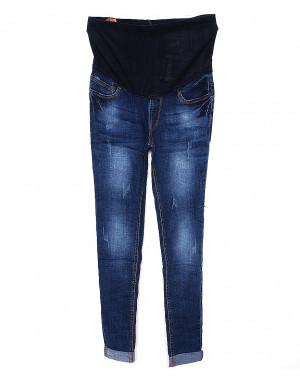 A 0932-10 Relucky джинсы для беременных с царапками весенние стрейчевые (26-31, 6 ед.)