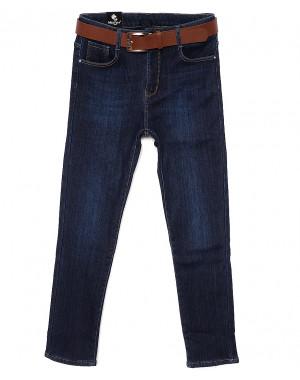 0776 Moon girl джинсы женские батальные на флисе стрейчевые (30-36, 6 ед.)