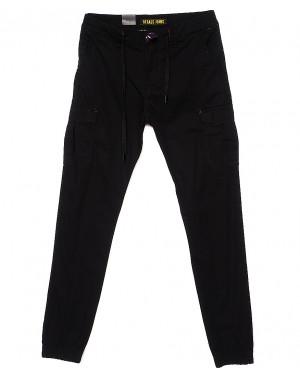 7658 (10) Regass брюки мужские на манжете с карманами весенние стрейчевые (30-38, 8 ед.)