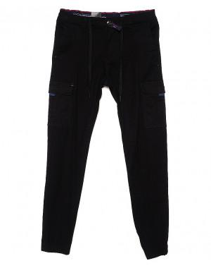 7657 (10) Regass брюки мужские на манжете с карманами весенние стрейчевые (29-38, 8 ед.)