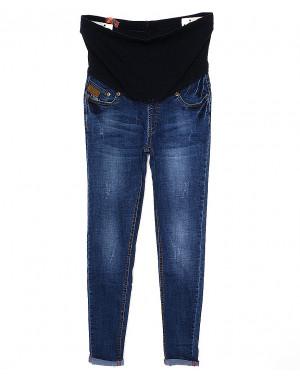 A 0931-10 Relucky джинсы для беременных с царапками весенние стрейчевые (26-31, 6 ед.)