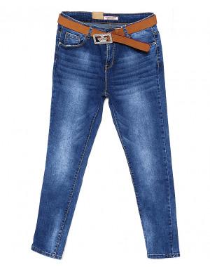8057 M.Sara джинсы женские батальные весенние стрейчевые (31-42, 6 ед.)