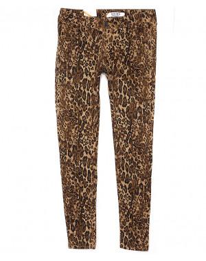 """1559 Gourd джинсы женские с принтом """"леопард"""" весенние стрейчевые (25-29, 6 ед.)"""