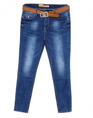 8055 M.Sara джинсы женские батальные весенние стрейчевые (30-36, 6 ед.)