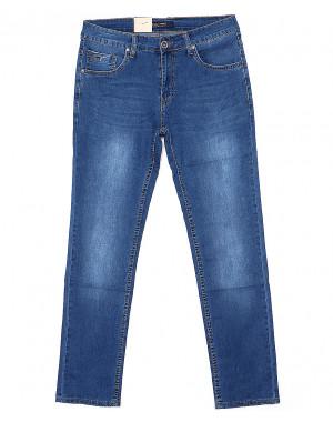 120138 LS джинсы мужские батальные классические весенние стрейчевые (32-38, 8 ед.)
