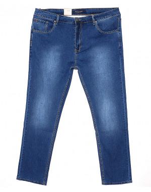120145-TD LS джинсы мужские батальные классические весенние стрейчевые (38-48, 8 ед.)