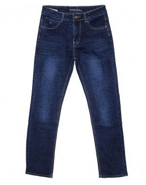 0201 синие G-Max джинсы мужские батальные классические весенние стрейчевые (32-40, 8 ед.)