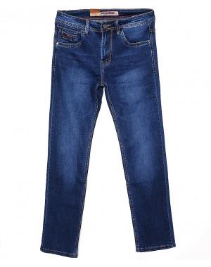 9041 Baron джинсы мужские батальные классические весенние стрейчевые (32-38, 8 ед.)