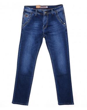 9040 Baron джинсы мужские батальные с косым карманом весенние стрейчевые (32-38, 8 ед.)