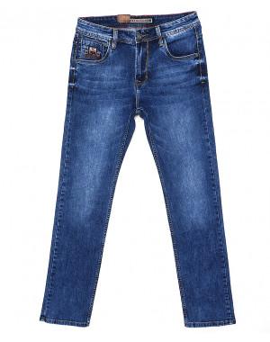 9023 Baron джинсы мужские батальные классические весенние стрейчевые (32-38, 8 ед.)