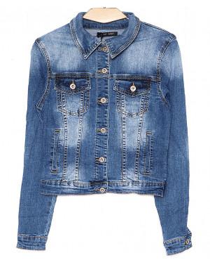 0111 (W111) Saint Wish куртка джинсовая женская весенняя стрейчевая (S-XL, 4 ед.)