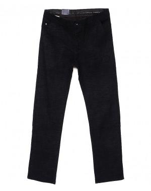 6018-1 Baron брюки мужские черный меланж весенние стрейч-котон (29-38, 8 ед.)