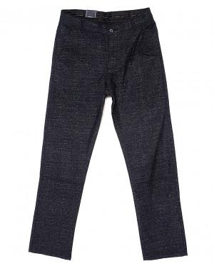6013-2 Baron брюки мужские серо-синие весенние стрейч-котон (29-38, 8 ед.)