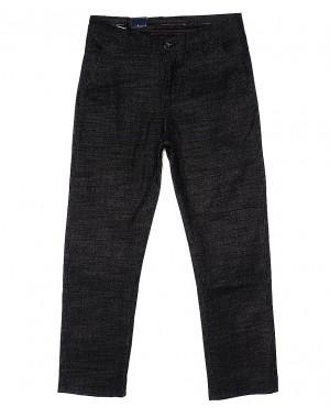 6015-1 Baron брюки мужские молодежные темно-серые весенние стрейч-котон (27-34, 8 ед.)