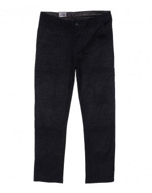 6016-2 Baron брюки мужские батальные темно-серый меланж весенние стрейч-котон (32-38, 8 ед.)