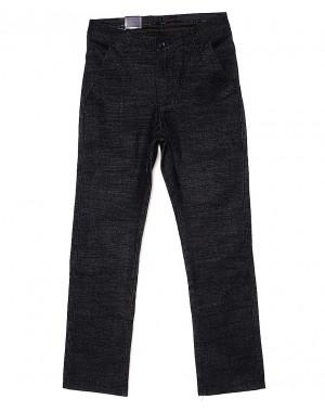 6015-2 Baron брюки мужские молодежные темно-серые весенние стрейч-котон (27-34, 8 ед.)