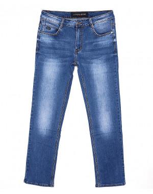 8112 Li Feng джинсы мужские батальные с теркой весенние стрейчевые (32-38, 8 ед.)