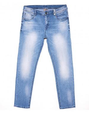0015 (V-A2-015) Varxdar джинсы мужские батальные с теркой весенние стрейчевые (32-38, 8 ед.)