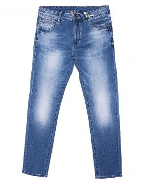 0019 (V-A2-019) Varxdar джинсы мужские батальные с теркой весенние стрейчевые (32-40, 8 ед.)