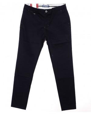 0007-5C (HD07-5С) H&Dilesel брюки мужские зауженные весенние стрейчевые (30-38, 10 ед.)