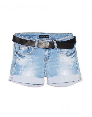 0628-S Philipp Plein шорты джинсовые женские стрейчевые (26,26,27,27,28,29, 6 ед.)