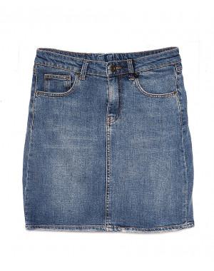 3240 Replus юбка джинсовая женская весенняя котоновая (25-30, 6 ед.)
