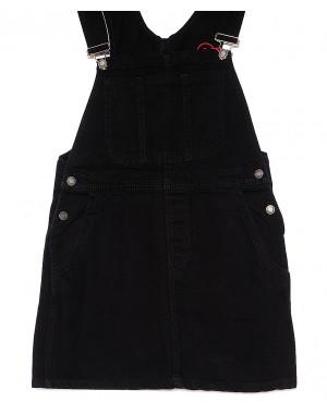 2606 black Xray комбинезон-юбка джинсовый черный весенний котоновый (34-40, евро, 6 ед.)