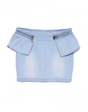 1842 UNO юбка джинсовая весенняя стрейчевая (25-30, 6 ед.)