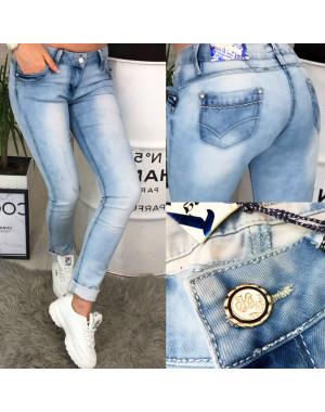 0063-03 Car King джинсы женские с варкой весенние стрейчевые (25-30, 6 ед.)