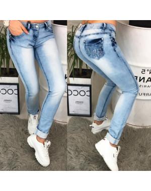 0056-03 Car King джинсы женские с варкой весенние стрейчевые (25-30, 6 ед.)