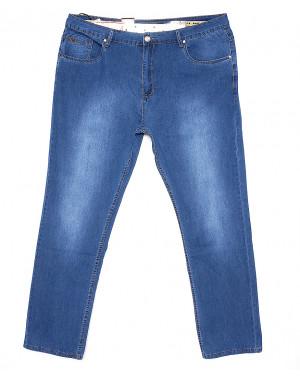 120166-TD LS джинсы мужские батальные классические весенние стрейчевые (38-48, 8 ед.)