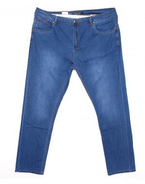 120165-TD LS джинсы мужские батальные классические весенние стрейчевые (38-48, 8 ед.)