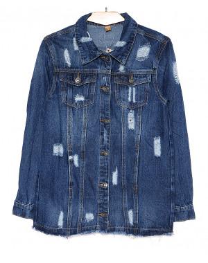 0725 X кардиган женский джинсовый весенний котоновый (XS-XL, 5 ед.)