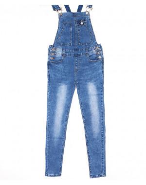 7117 X комбинезон джинсовый женский весенний стрейчевый (26-31, 6 ед.)