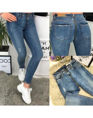"""3167 Replus стильные женские джинсы """"змейка"""" весенние стрейчевые (26-30, 5 ед.)"""