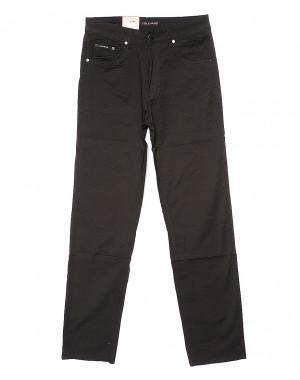 9001 LS брюки мужские классические коричневые весенние стрейчевые (31-38, 8 ед.)