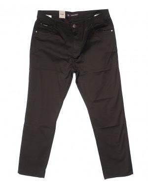 9001-D LS брюки мужские батальные цвета коричневые весенние стрейчевые (34-44, 8 ед.)