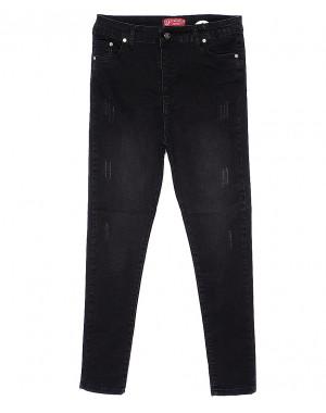 70010 батал джинс царапки темно-серый Bikelife американка батальная весенняя стрейчевая (44-50, евро, 4 ед.)
